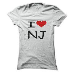 I love New Jersey - #hoodie costume #sweatshirt style. MORE INFO => https://www.sunfrog.com/LifeStyle/I-love-New-Jersey.html?68278