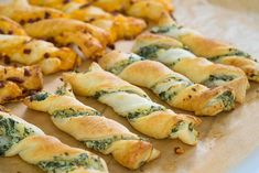 Sallys Rezepte - Last-Minute-Blätterteigstangen / Fingerfood