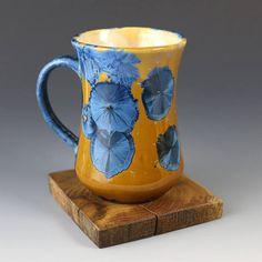 Tall Mug Blue Orange 152 oz / 450ml