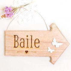 Flecha señalizacion Baile boda: derecha