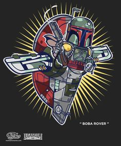 Star Wars' Boba Rover T shirt now available
