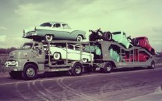 New Fords being transported to the dealership.#Repin By:Pinterest++ for iPad#