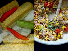 sweet corn & caramelized tomato farrotto // The First Mess