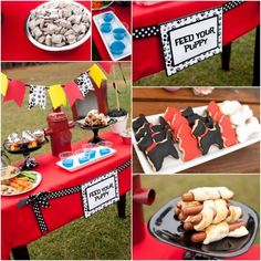 Simple & inexpensive puppy birthday party or playdate ideas. Make a fire hydrant from recyclables, serve puppy party themed food, make puppy crafts and create a puppy agility course for the kids to run. Puppy party fun!