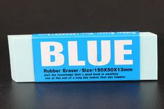 Giant Blue Eraser