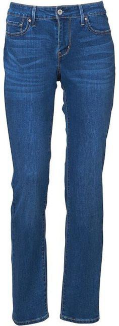 Levi's Womens Curve ID Slight Curve Jeans Blue £29.99!