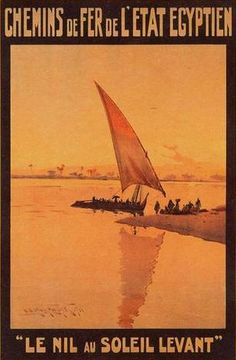 Egypt Poster 1 Chemins de Fer de L'Etat Egyptien1911