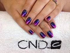 BLINGY BERRY SURPRISE. CND Shellac Rockstar with Additives. www.Facebook.com/DivineByDesignCNDNails