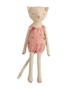 Mini Kitty Cat Doll - Girl by Maileg at Gilt