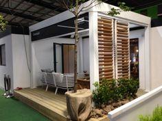 The Aluminium louvre veranda as exhibited at the IDS 2014. http://www.finedesignltd.co.uk/