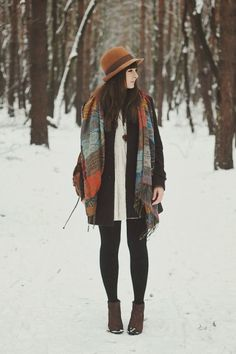 Casual and Chicest Ways to Layering Winter Outfit  http://www.ferbena.com/casual-and-chicest-ways-to-layering-winter-outfit.html