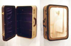 repurposed vintage suitcases