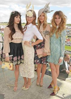 Epsom Derby 2016: The Investec Epsom Derby Festival Ladies' Day Royal Ascot Ladies Day Epsom Derby Furlong Fashion Fashion At The Races Racing Style