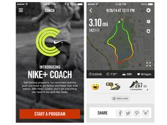 Top 10 running apps for the iPhone: Nike+ Running, Endomondo and RunKeeper - ShinyShiny Best Free Workout Apps, Spin Class, Training Programs, Nike Running, Fitness, Tech, Workout Programs, Keep Fit, Workout Plans