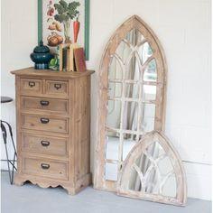 Church Window Mirror Tall Mirrors Cathedral Mirror