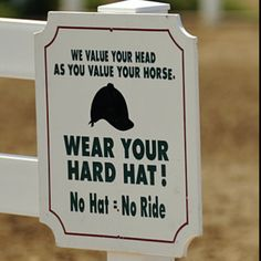 A helmet will save your life- ALWAYS wear one!  #equine_equine_my_kid_sarahjoy   To read an article on equestrian decor including Two Divine Equestrian Ranch Estates, click here  http://somethingbeautifuljournal.blogspot.com/2009/03/equestrian-style-interior-design.html