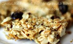 These are delicious!! Peanut Butter Chocolate Granola bars and an easy recipe! Save so much money with homemade.