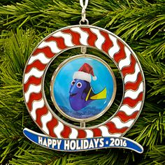 It's finally here! Get the 2016 Disney Movie Rewards holiday ornament and add a little fin-tastic fun to your tree with Finding Dory. Disney Movie Rewards, Disney Movies, Christmas Holidays, Xmas, Christmas Tree, Holiday Ornaments, Holiday Decor, Finding Dory, Disney Girls