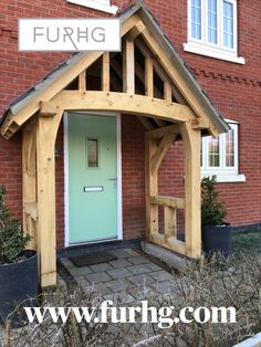 One of our porch kits installed by a customer. Looking great on the front of their house.