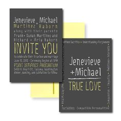 Rad Invitations Wedding Invitations Photos on WeddingWire