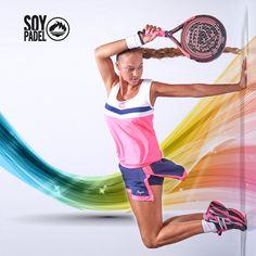 ¡¡Uhh!! ¡¡Ahh!! Las chicas son guerreras  Y para la batalla nada mejor que una buena equipación y una pala que esté a la altura. ¿Te gusta?  #deporte #sport #pádel #zapatillas #moda #calzado