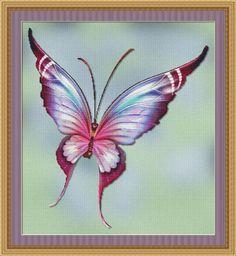 Flutter #1 Cross Stitch
