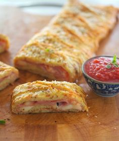 Cauliflower Crust Stromboli #TheIronYou