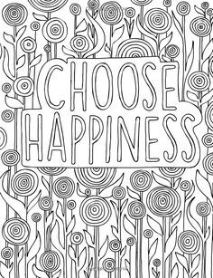 The Affirmations and Encouragement Coloring Book For Grown-Ups Quote Coloring Pages, Free Adult Coloring Pages, Colouring Pages, Printable Coloring Pages, Coloring Sheets, Coloring Books, Mandala Art, Color Quotes, Meditation