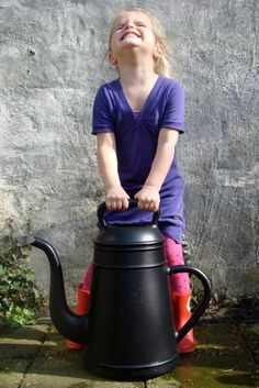 Lungo watering can by Xala. Made in Belgium