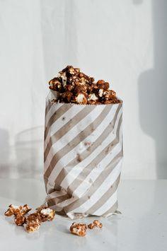 coconut chocolate popcorn