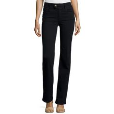 Frame Le Micro Flare Jeans ($119) ❤ liked on Polyvore featuring jeans, film noir, frame jeans, high-waisted jeans, zipper fly jeans, high waisted button jeans and high rise flare jeans