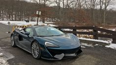 The 2017 McLaren 570GT Is the Gentleman's Supercar - The Drive