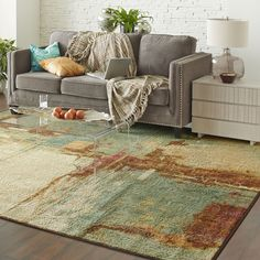 You'll love the Florencia Aqua Area Rug at AllModern - With Great Deals on modern Décor  products and Free Shipping on most stuff, even the big stuff.