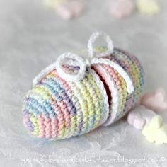With a Grateful Prayer and a Thankful Heart: Crochet Easter Egg