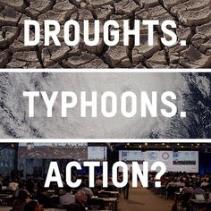 Climate change is impacting lives around the world. 2.5 million people are being affected by drought in Central America. About 1 million people were evacuated due to Typhoon Hagupit in the Philippines.  Will world leaders take meaningful #climateaction in Paris?