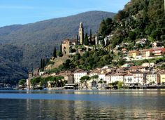 Morcote Lago di Lugano Ticino #Switzerland @SonjaSwissLife @10Best - A Division of USA TODAY Travel