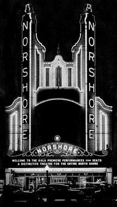 Norshore Theater, W. Howard, Chicago