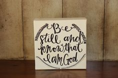 Be still and know that I am God - Psalm Psalm 46, Scripts, Be Still, Journaling, Christmas Crafts, Fonts, Doodles, Bible, Inspirational