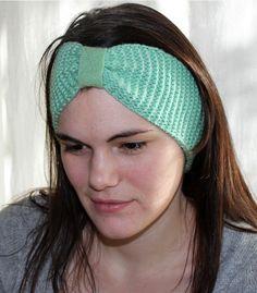 Stirnbänder - Stirnband Ohrenwärmer Haarband 100% merino grün - ein Designerstück von lucieandcate bei DaWanda Etsy, Accessories, Fashion, Moda, Fashion Styles, Fashion Illustrations, Jewelry Accessories