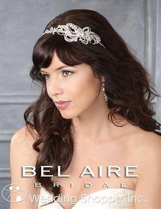 Bel Aire Bridal Headpiece 6431