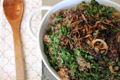 Middle Eastern spiced lentils and rice