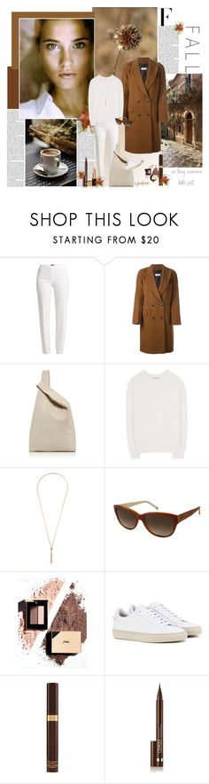 """""""Hello Fall"""" by cybelfee ❤ liked on Polyvore featuring Nicki Minaj, Basler, Alberto Biani, Hayward, Vince, Kenneth Jay Lane, FOSSIL, Givenchy, Tom Ford and Clinique"""