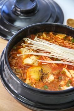 I used to think that I didn't like Soondubu Jjigae, or Spicy Soft Tofu Stew. Whenever anyone suggested going to get some at a restaurant, I was usually…