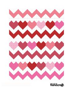 I Heart Chevrons Quilt: A Tutorial
