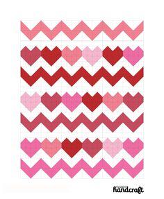 I Heart Chevrons Quilt: A Tutorial