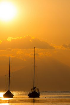Sunset in Marinas