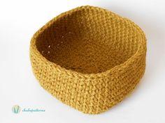 Hemp basket tutorial @Chabepatterns