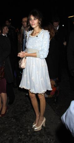Alexa Chung wearing Chanel