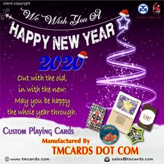 Our fine-tuned processes and printing capabilities come from over 45 years of experience making custom playing cards and personalized playing cards. Personalized Playing Cards, Custom Playing Cards, Happy Year, Happy New Year 2020, Poker, Are You Happy, Create Yourself, Bridge, Creativity