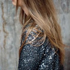 sparkle sequin blazer